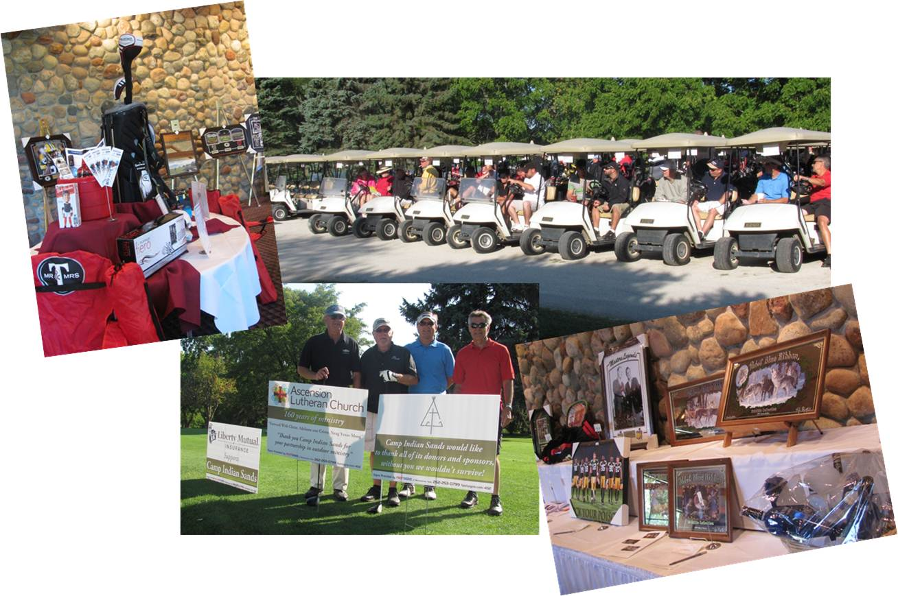 Camp Indian Sands' 8th Annual Charity Golf Outing