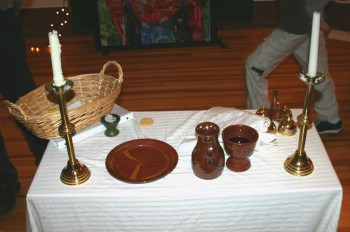 """communion table"" by Lars Hammar"