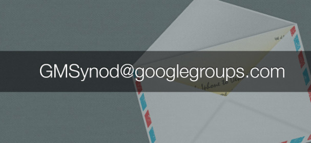 gmsynod-googlegroups