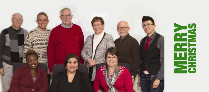 Christmas blessings from your synod staff!