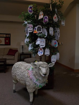Trinity's Lenten Lamb!