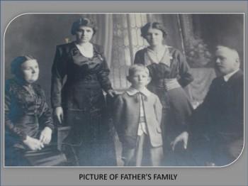 family history example