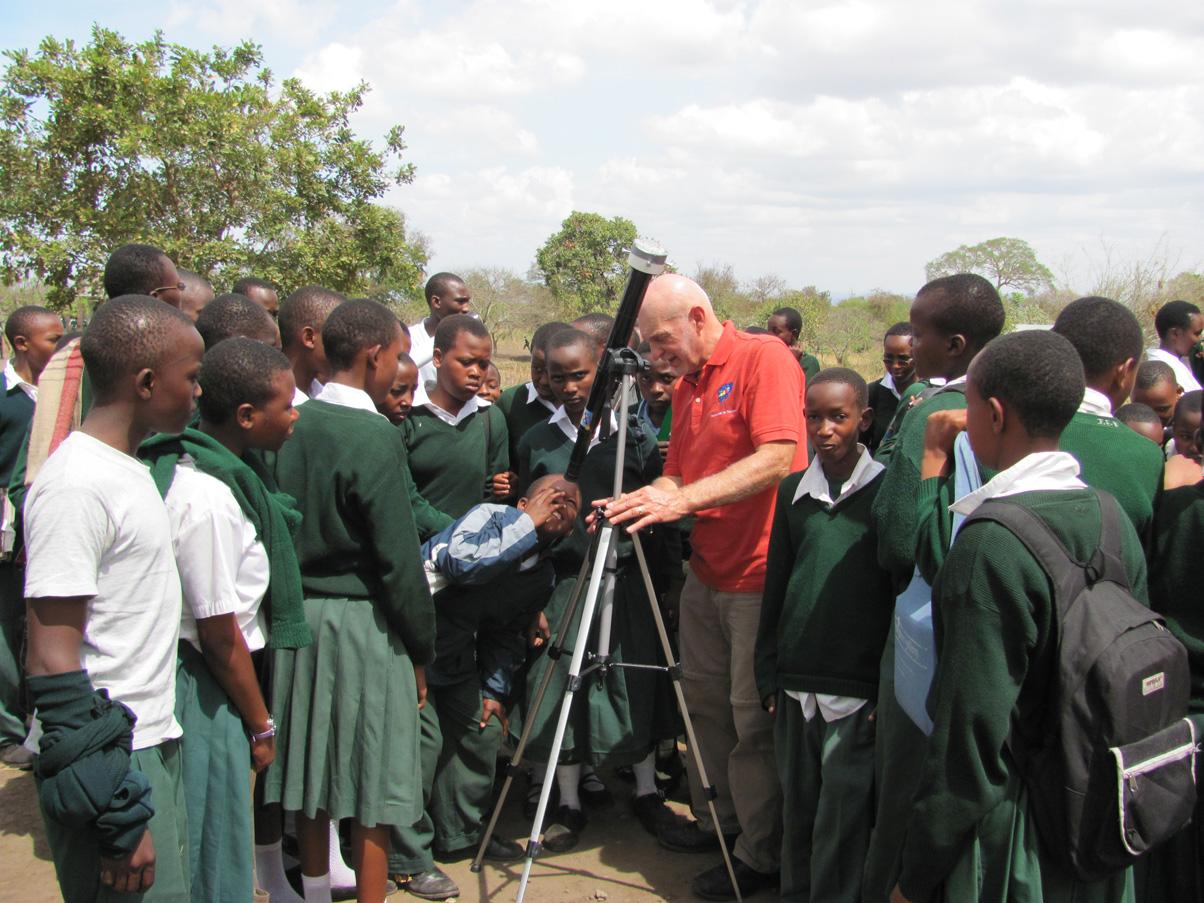 Telescopes to Tanzania project report