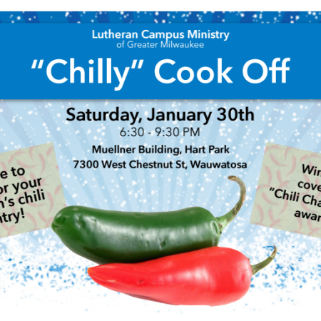 """Chilly"" Cookoff for Campus Ministry"