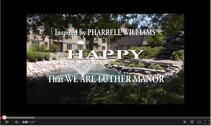 Luther Manor is Happy