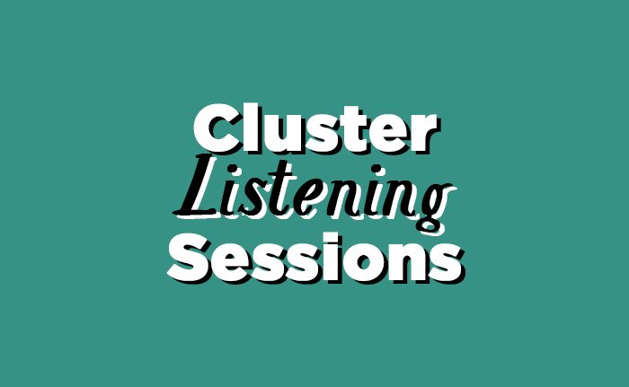 Cluster Listening Sessions with Bishop Erickson – Sign Ups