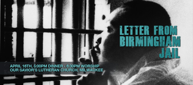 Letter from a Birmingham Jail:  An Invitation from Bishop Jeff