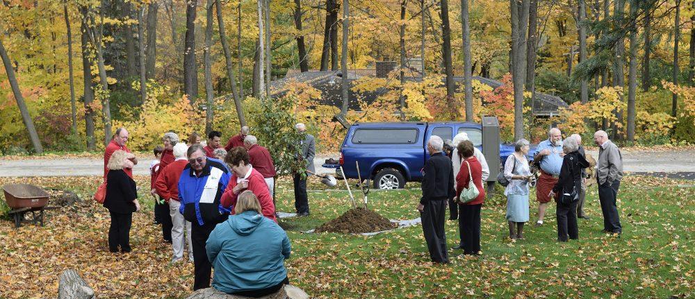 Tree Planting at Reformation Lutheran Church, Brookfield